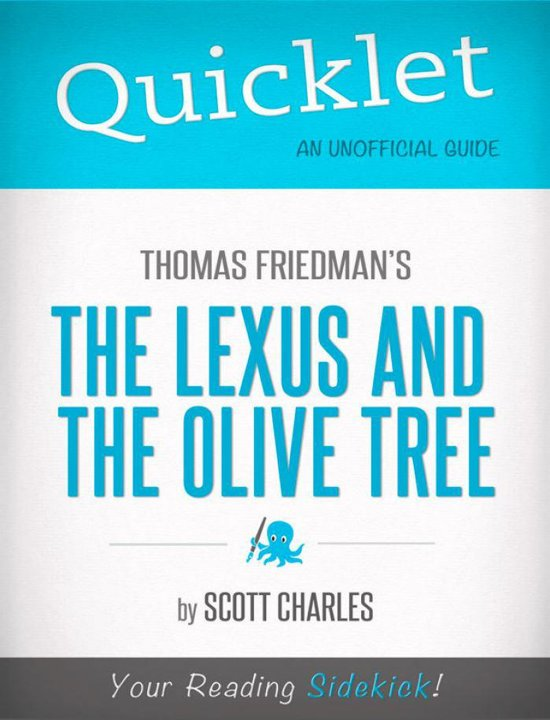 a book analysis of lexus and the olive tree by thomas friedman Lexus and the olive tree, the, by thomas friedman: the lexus and the olive tree author: thomas powers of observation and analysis - give weight to the book.