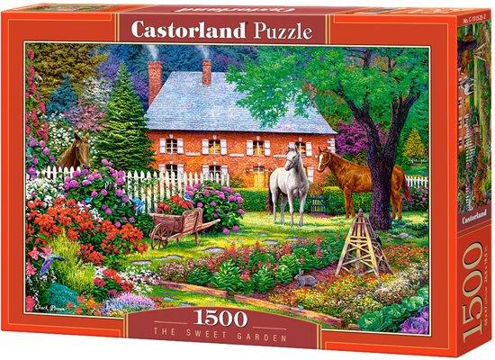 `The sweet garden - 1500 stukjes in Kruispolderhaven