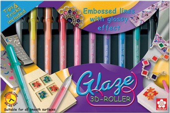 Glaze 3D-Roller - Set 10 in Brommelen