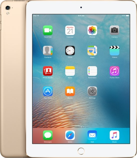 Apple iPad Pro - 9.7 inch - 128 GB - WiFi - Goud - Tablet