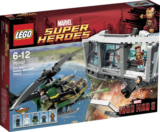 LEGO Super Heroes Malibu Landhuis Aanval - 76007 in Klein Groningen