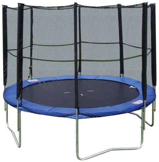 moonwalker trampoline 305 cm met veiligheidsnet. Black Bedroom Furniture Sets. Home Design Ideas
