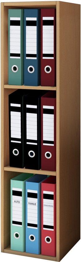 Vakkenkast dossierkast voor het opbergen van bijvoorbeeld ordners kantoormateriaal - Kast voor het opslaan van boeken ...