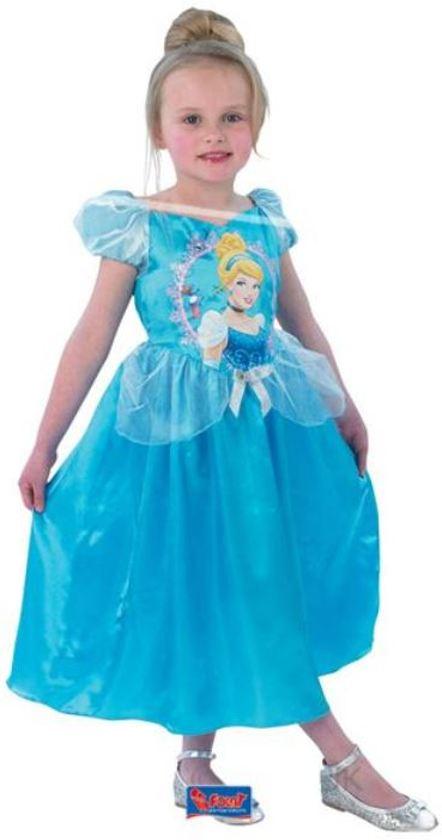 Prinsessenjurk Assepoester Storytime - Carnavalskleding - Maat 103-116 - 3-5 jaar in Beerenplaat