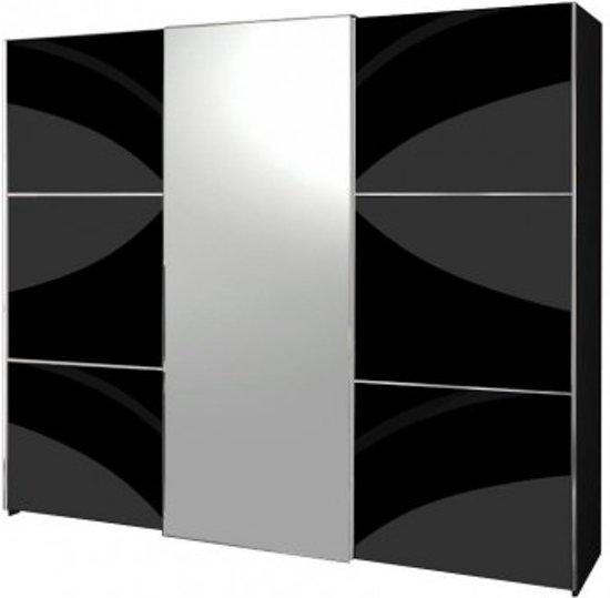 bol.com  Davidi Design Moral - Kledingkast - Zwart - Hout/Metaal/Glas ...