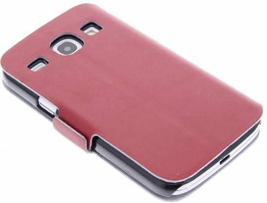 Rode Keukenapparaten : bol.com Rode luxe booktype hoes voor de Samsung Galaxy Core