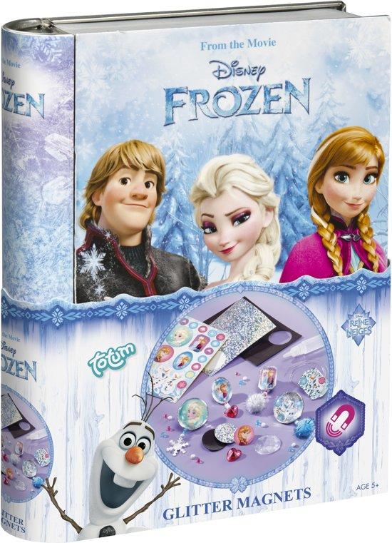 Disney Frozen Glitter Magneti - magneten maken in Deinum