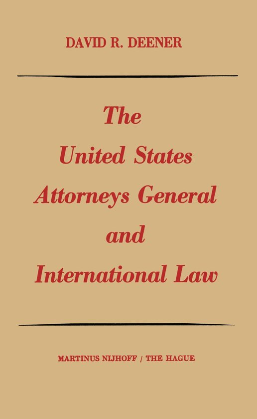 The functions of the united states attorney general