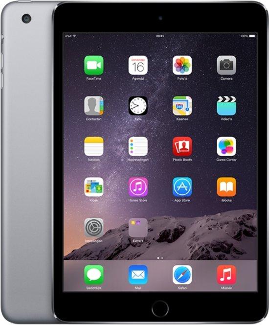 Forza Refurbished iPad Mini 3 16GB 3G 4G Zwart, Grijs