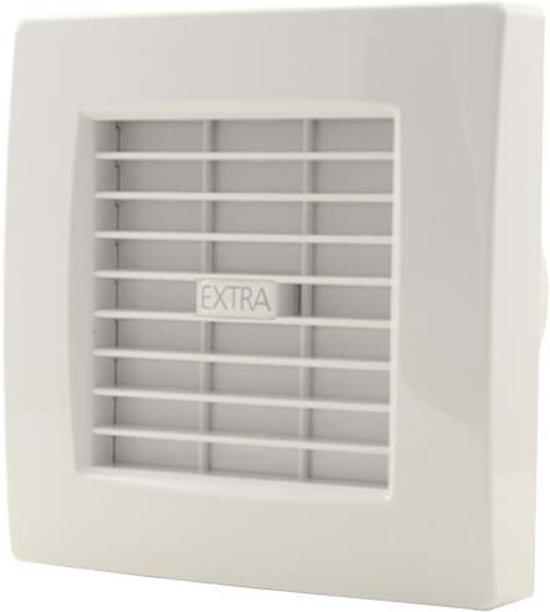 Wandlamp Badkamer Zwart ~   Ventilatie & Airconditioningaccessoire Toilet  Badkamer ventilator