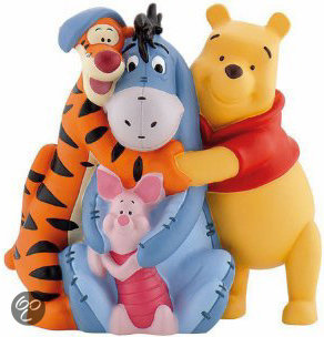 Walt Disney Money Bank Winnie+Friends in Bothey