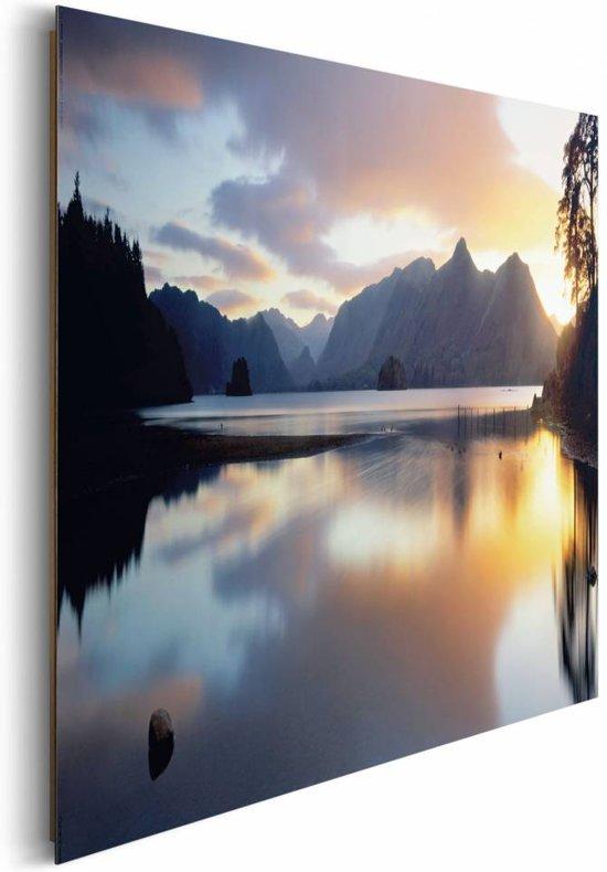Next by reinders zonsondergang water schilderij 90x60cm - Deco schilderij slaapkamer kind ...