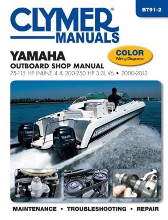 Yamaha 75 250 Hp 4 Stroke Outboard Motor Repair