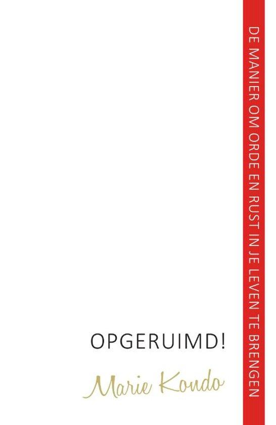 boek opgeruimd moeders minimalisme