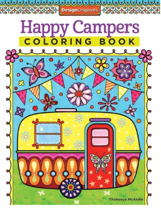 bolcom happy campers coloring book thaneeya mcardle