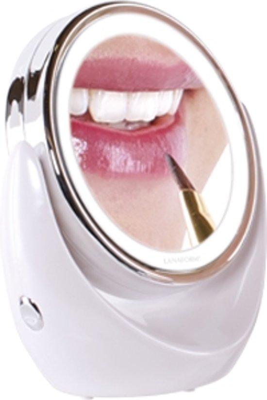 lanaform led mirror x10 make up spiegel. Black Bedroom Furniture Sets. Home Design Ideas