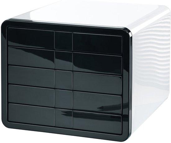 Ladenkast HAN i-Box met 5 gesloten Laden wit / zwart in Slins