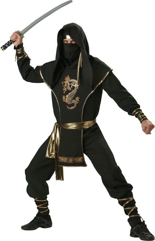 Ninja kostuum voor heren - Premium - Verkleedkleding - XL in Harenermolen