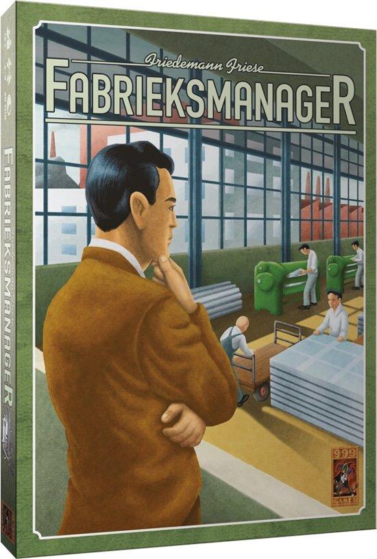 Fabrieksmanager - Bordspel in Schependom
