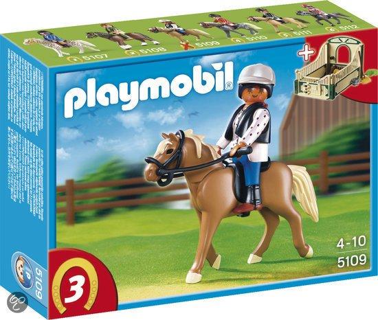 Playmobil Haflinger met Paardenbox - 5109 in Paddepoel
