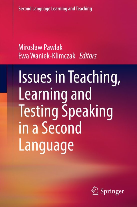 in second language teaching and learning: