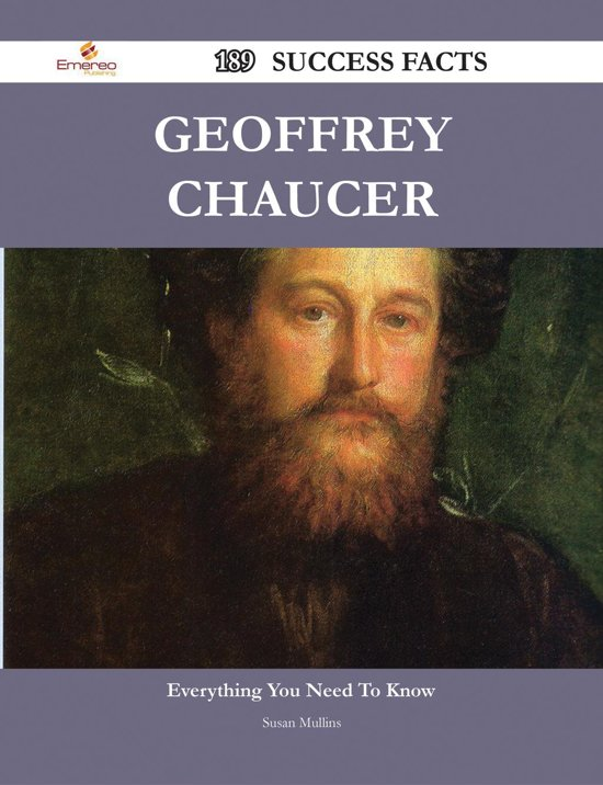 a biography of geoffrey chaucer