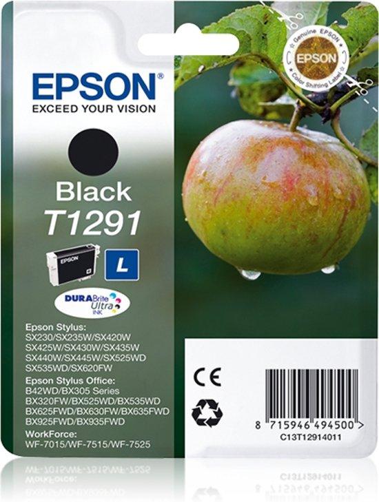 Epson T1291 - Inktcartridge / Zwart