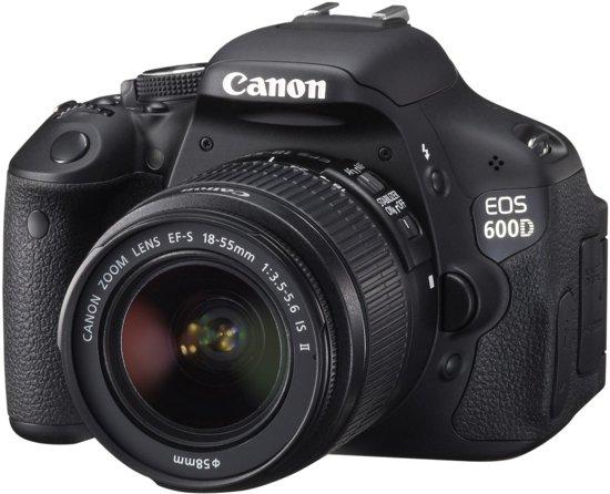 Canon EOS 600D + 18-55mm IS - spiegelreflexcamera