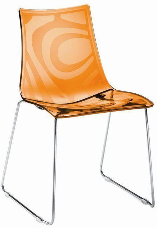 Scab zebra s pc stoel oranje wonen - Stoel zebra ...