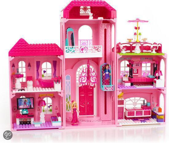 Bol Com Mega Bloks Barbie Droom Villa Speelset Mega