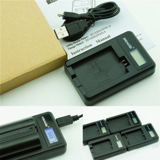 Bol Com Lcd Usb Oplader Voor Sony Bc Csg Accu Np Bg1 Np Fg1