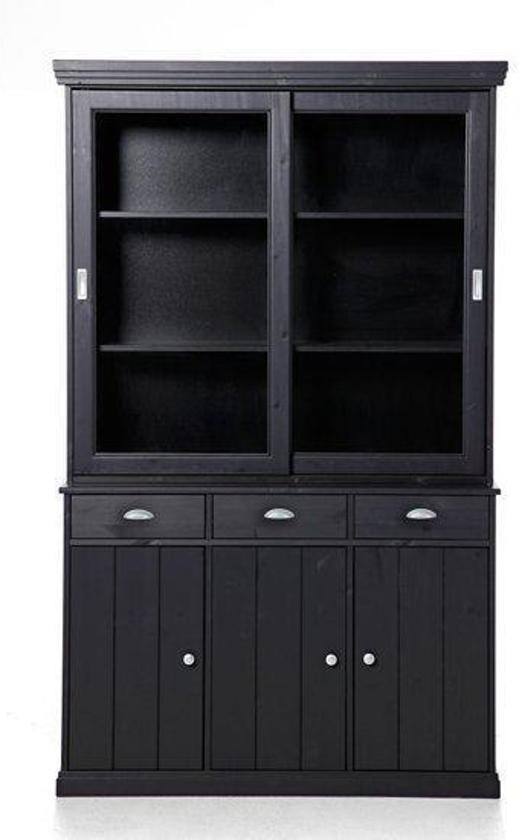 woonexpress buffetkast teuge zwart. Black Bedroom Furniture Sets. Home Design Ideas