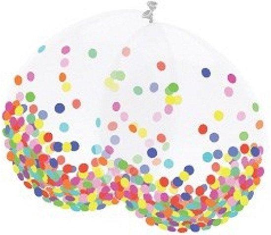 Confetti thema ballonnen 6 stuks in Wijgeest / De Wigeast / Wygeast
