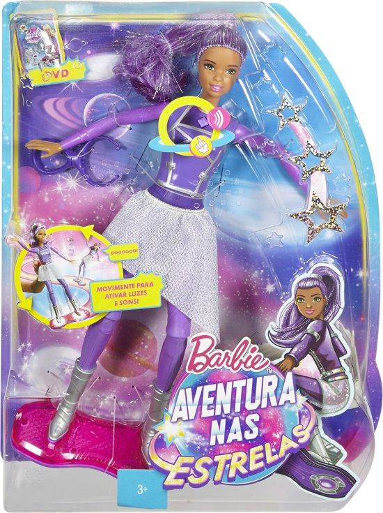 Barbie Star Light Avontuur Lichtjes & Geluidjes Hoverboard in Deelshurk