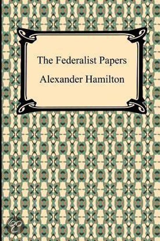 the authors of the federalist papers were