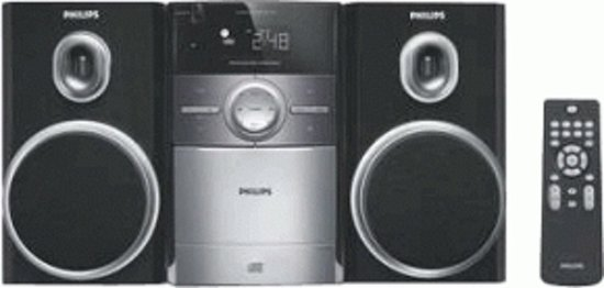 Philips MC147 - Microset met cassettespeler