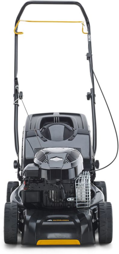 goedkoop mcculloch m40 125 benzine grasmaaier 125 cc. Black Bedroom Furniture Sets. Home Design Ideas