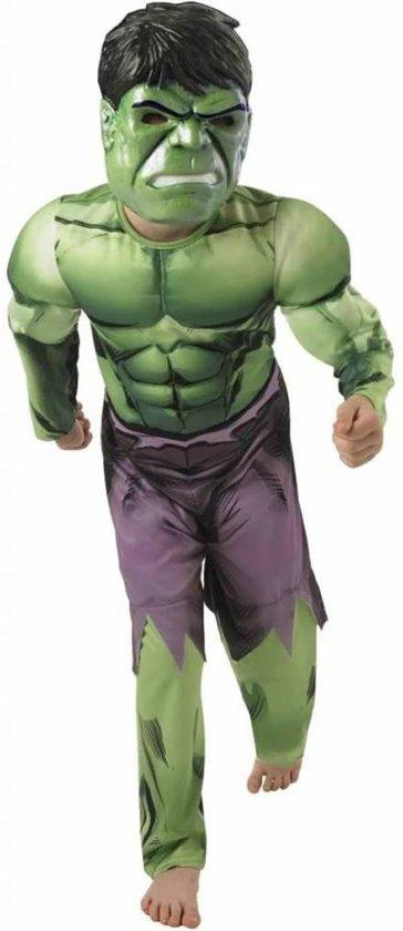 Hulk™ kostuum uit The Avengers™ voor jongens - Kinderkostuums - 122/128 in Saint-Remy-Geest