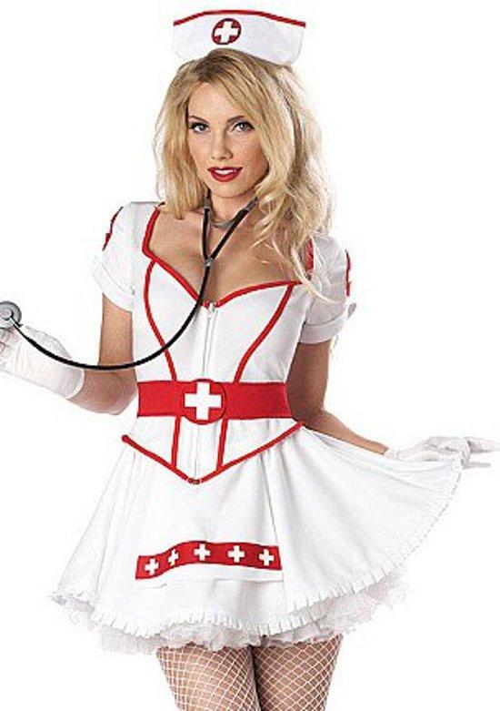 Sexy verpleegster kostuum voor vrouwen  - Verkleedkleding - XS in Tweede Dwarsdiep