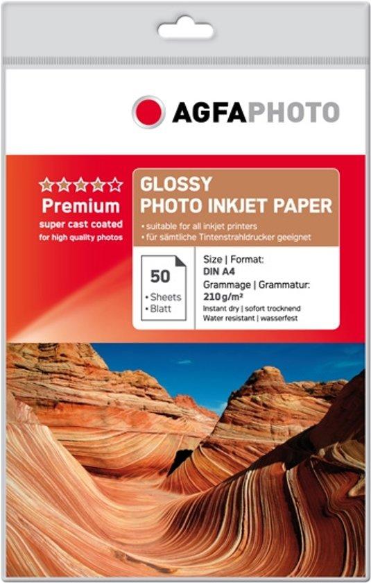 AgfaPhoto Foto Glossy Papier - 210g / A4 / 50 vellen