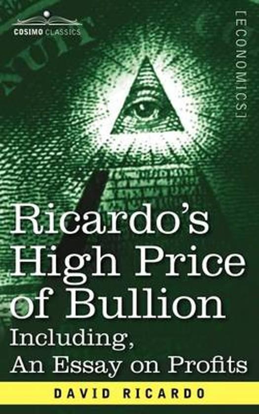essay on profits ricardo