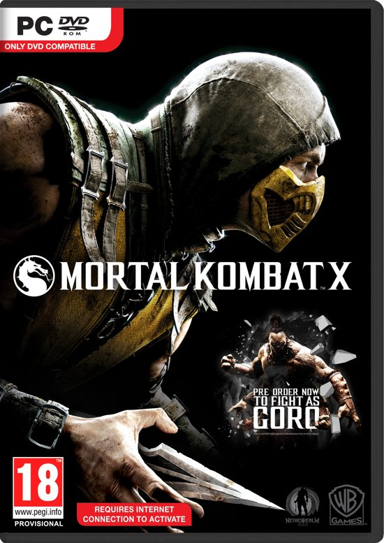bolcom mortal kombat x windowswarner bros games