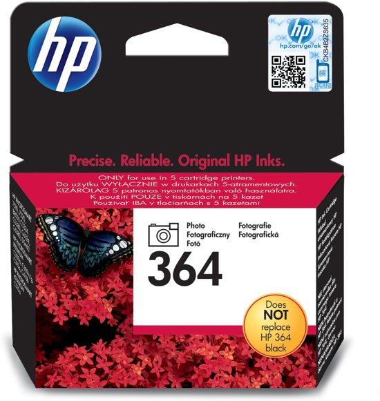 HP 364 - Fotocartridge / Zwart (CB317EE)