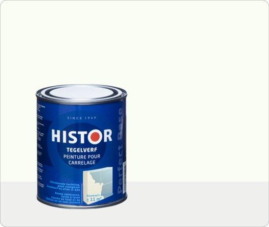 20170413&033759_Tegelverf Voor Douche ~ bol com  Histor Perfect Base Tegelverf 0,75 liter  Zuiver Wit (Ral