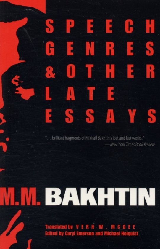 speech genres and other late essays Online shopping from a great selection at books store.