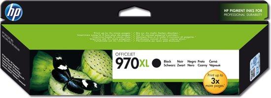 HP 970XL - Inktcartridge / Zwart / Hoge Capaciteit (CN625AE)