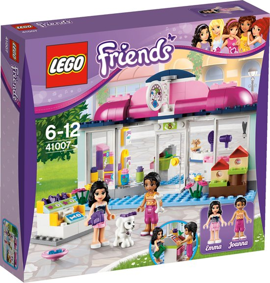 Lego friends heartlake dierensalon 41007 lego for Lego friends salon de coiffure