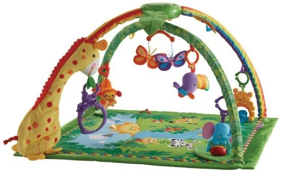 Bol Com Fisher Price Muzikaal Rainforest Luxe Gym