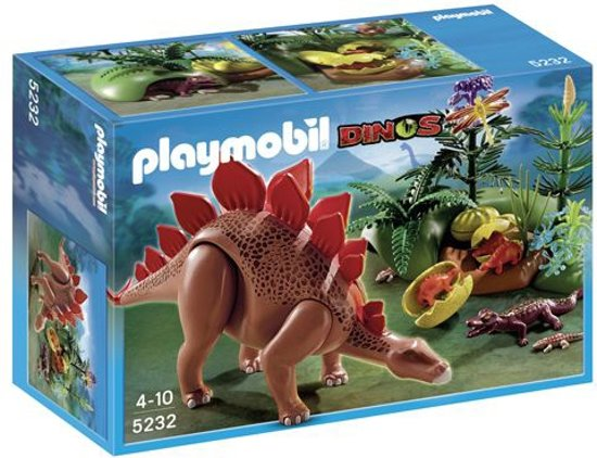 Playmobil Stegosaurus met Broedplaats - 5232