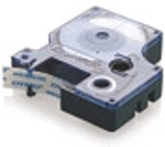 Dymo 45010 Tape Type D1 - 12mm X 7m / Zwart